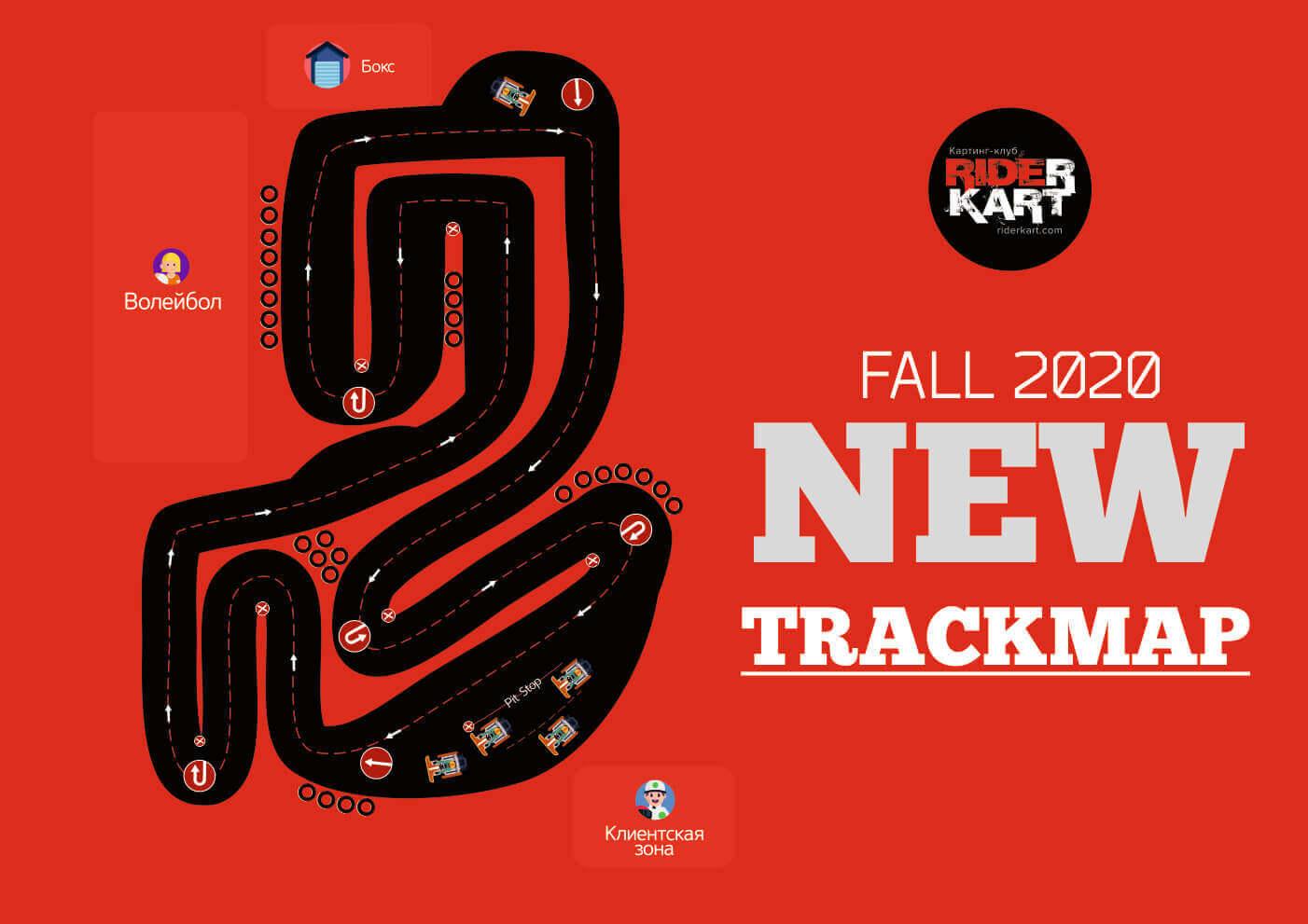 riderkart new track map for riderkart